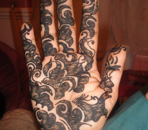 Full Palm Henna Mehdni