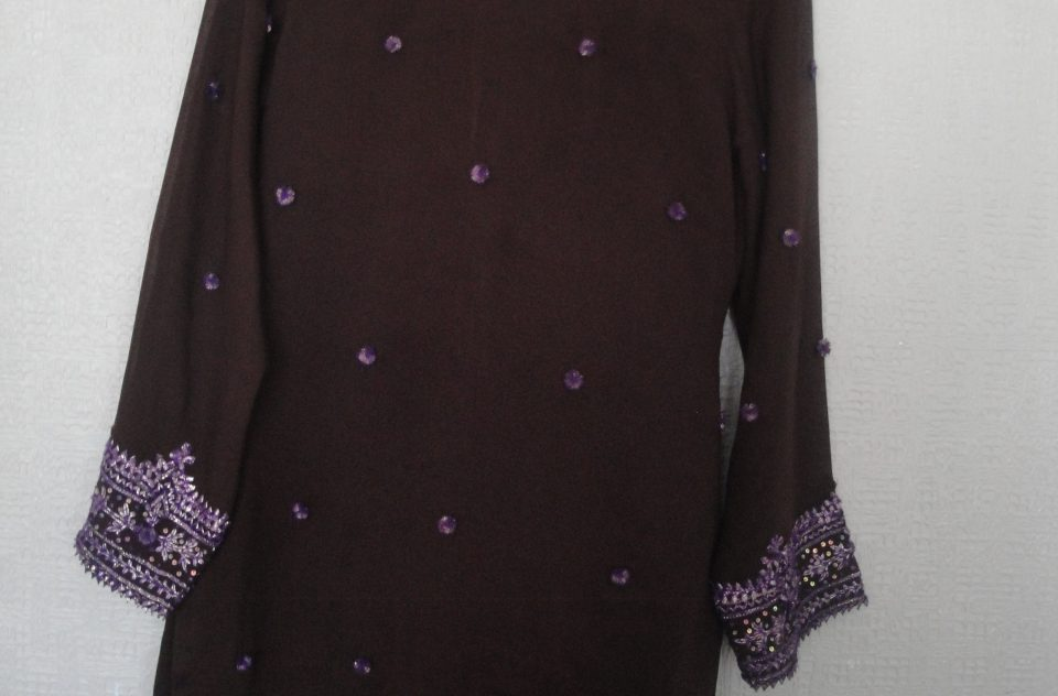 Glimse of Purple salwar kameez