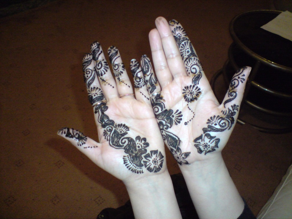 Henna on Plam