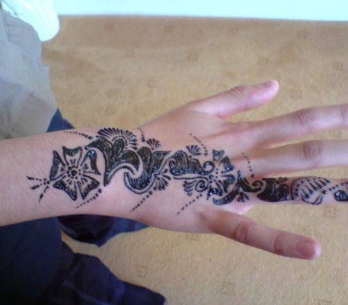 Flower Henna Patterns