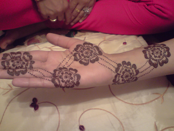 Flower Henna pattern