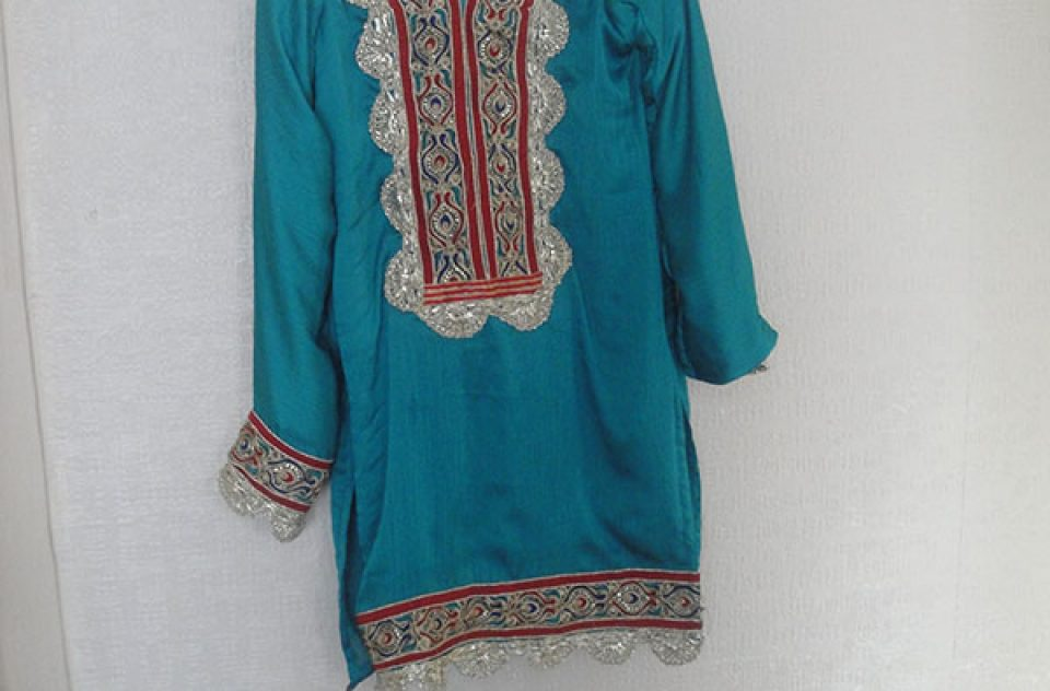 Blue Patiala Salwar