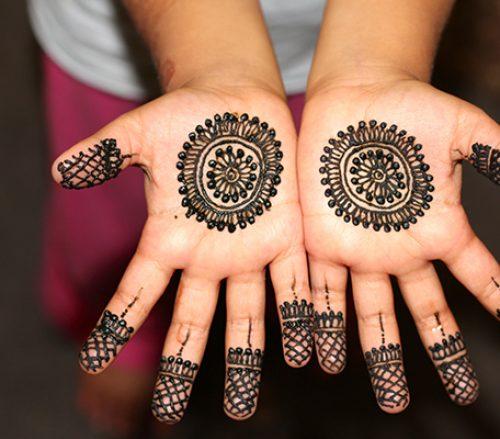 Children Henna Service