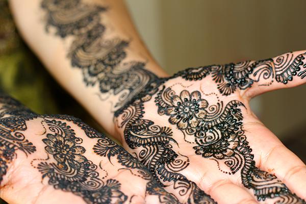 Bridal Henna Service