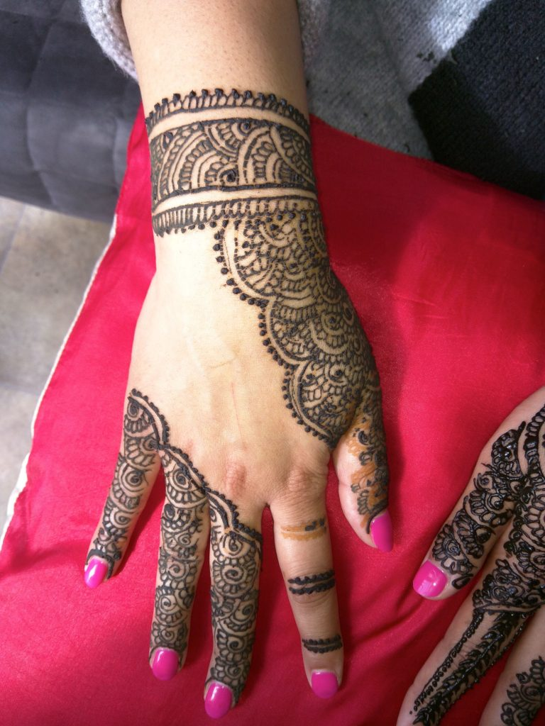 Leicester Henna tatos