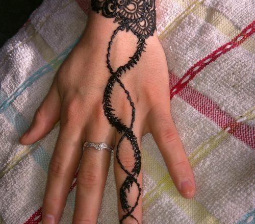 Evening primrose Henna Artist